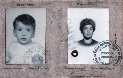 Porque decidi criar o Blog da Tissen  Tissen + Mãe em meu primeiro passaporte  Foto: Andrea Tissenbaum