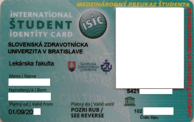 International Student Identity Card - ISIC| Foto: Falty14, via Wikimedia Commons