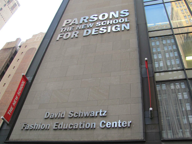 Parsons School of Design   Foto: Benoît Prieur, via Wikimedia Commons