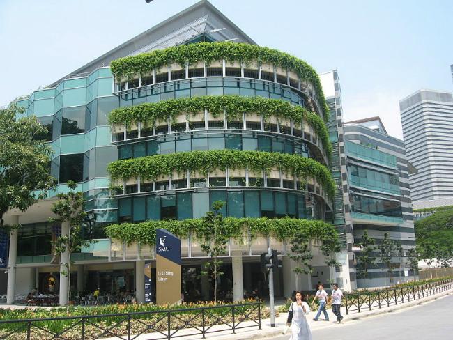 Singapore Management University | Foto: Terence Ong, via Wikimedia Commons