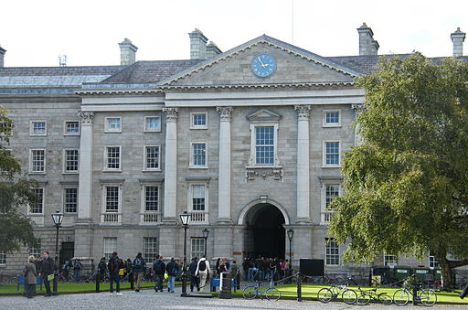 Trinity College | Foto: Pilgab via Wikimedia Commons