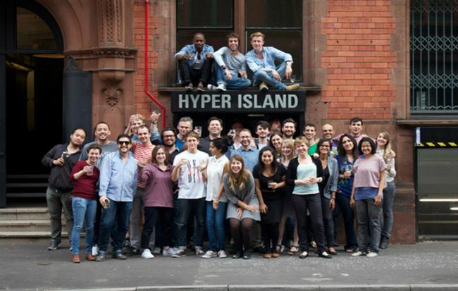 Foto: Hyper Island   Master in Arts Manchester, crew 5, graduação 2015