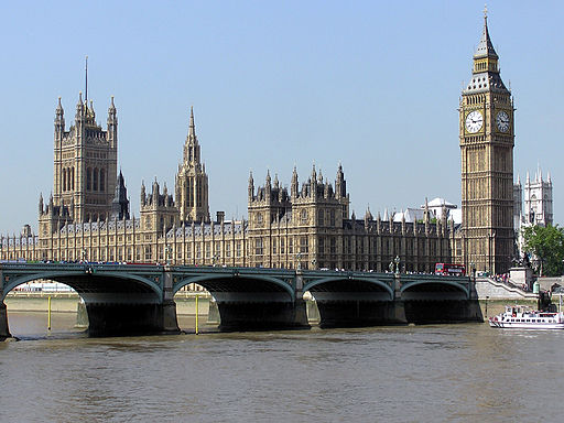 Houses of Parliament | Foto: Adrian Pingstone via Wikimedia Commons