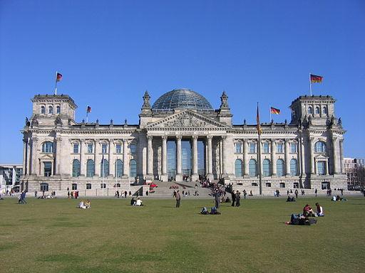 Reichstag   Foto by Norbert Aepli via Wikimedia Commons