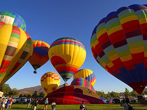 Sul da Califórnia  Luftballong   Foto: Jon Sullivan via wikimedia commons