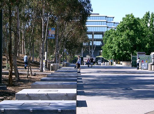 Sul da Califórnia | UCSD library walk | Foto: Foto: Znode, via Wikimedia Commons