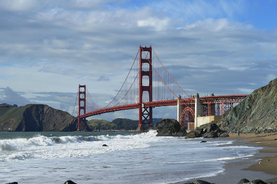 Golden Gate Bridge | Foto: Blake Everett, via Wikimedia Commons