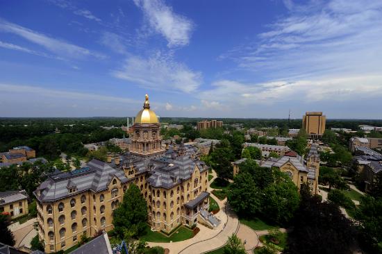 Universidade de Notre Dame - Foto: Divulgação