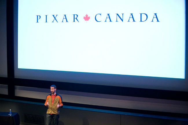 Dylan Brown / Pixar visita a Vancouver Film School | Foto: VFS, via Wikimedia Commons