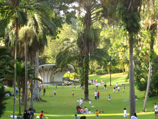 Jardim Botânico | Foto: Calvin teo via Wikimedia Commons