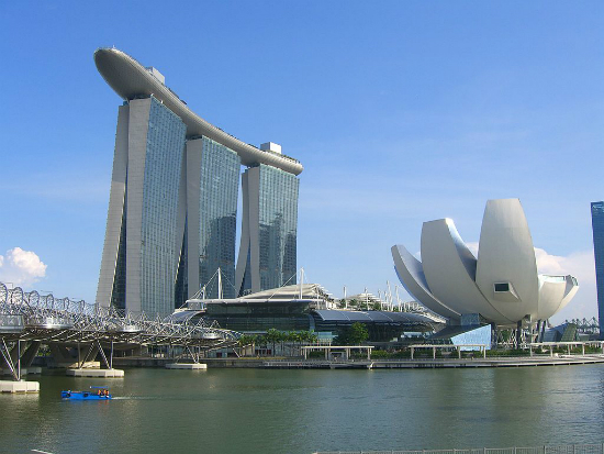 Marina Bay Sands Hotel | Foto: Giorces via Wikimedia Commons