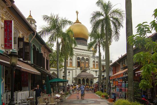 Mesquita do Sultão   Foto: Maksym Kozlenko via Wikimedia Commons