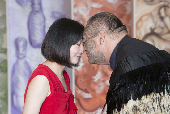 Images via WellingtonNZ.com | Hongi at Te Papa