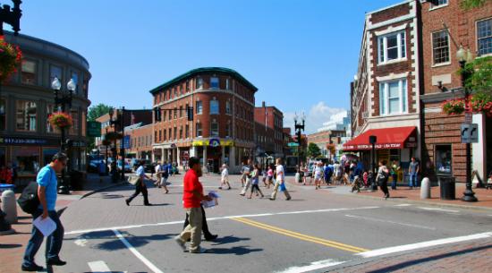 Harvard Square | Foto: Daderot