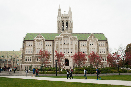 O'Neill Library - Boston College | Foto: Masstravel