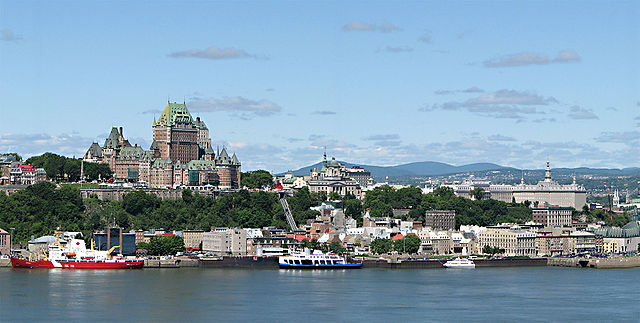 Panorama da ville de Quebec | Foto: Datch78 via Wikimedia Commons