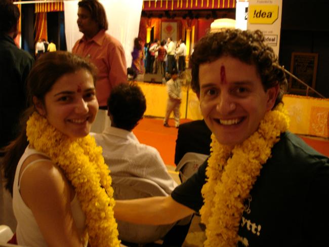 Camila e Edu em Pune | Foto: Camila Raso