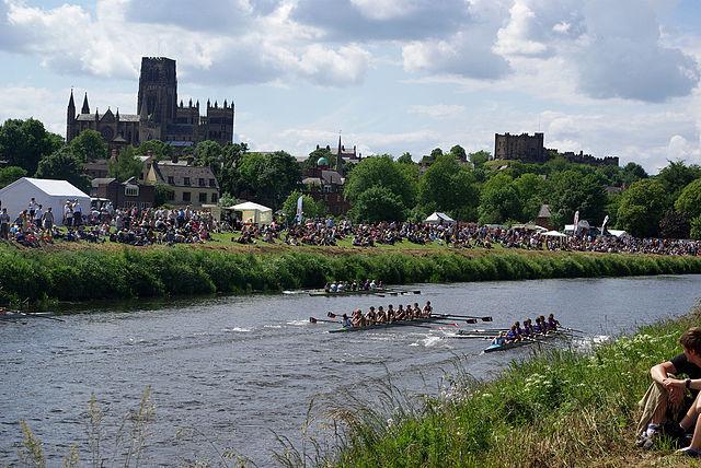Durham University - competição de remo | Foto: Kate Ure, via Flickr