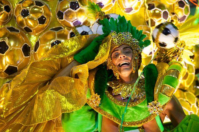 Carnaval, Rio de Janeiro | Foto: Nicolas de Camaret, via Wikimedia Commons