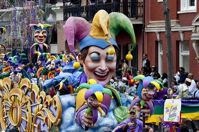 Mardi Gras Parade, New Orleans | Foto: Library of Congress, via Flickr