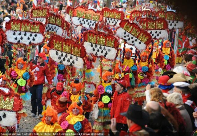 Festival de Colônia | Foto: J. Rieger, Köln / Cologne Carnival Festival Committee