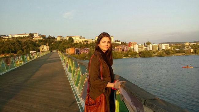 ENEM | Pelas margens do Rio Mondego, Coimbra | Foto: Gabriela Lázaro Vasconcellos