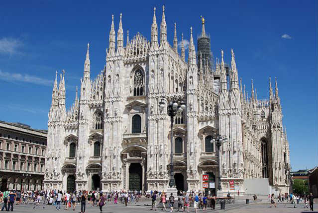 Milão | Duomo | Foto: Jakub Halun, via Wikimedia Commons