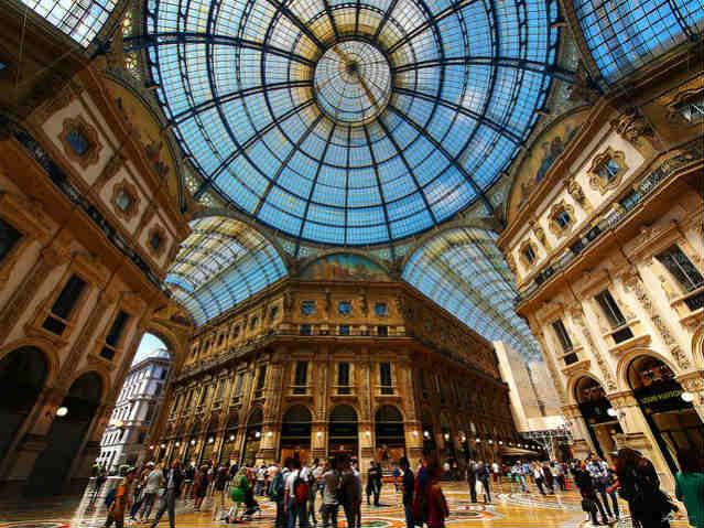 Milão | Galleria Vittorio Emanuele II | Foto: Paul Bica, via Flickr