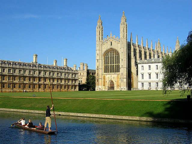 Bolsa Gates Cambridge | Kings College Chapell, Cambridge University | Foto: Andrew Dunn, via Wikimedia Commons