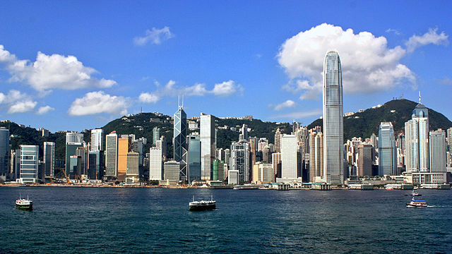 Hong Kong skyline | Foto: Wing, via Wikimedia Commons