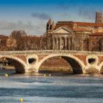 Pont Neuf, em Toulouse   Foto: Bernard O, via Flickr