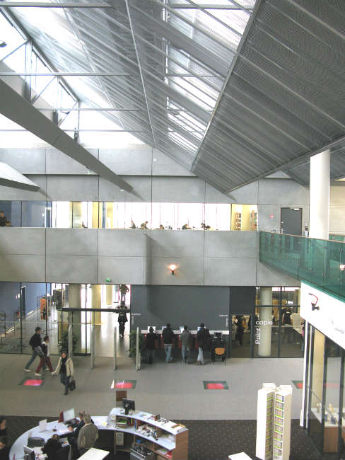 Biblioteca da Université Paul Sabatier, Toulouse | Foto: Espagno Milani Architectes, via Flickr