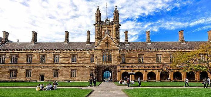 Universidade de Sydney, Austrália | Foto: Jason Tong, via Wikimedia Commons