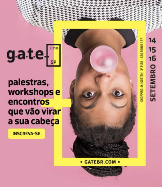 G.A.T.E. - evento sobre educação internacional | Crédito: Divulgação