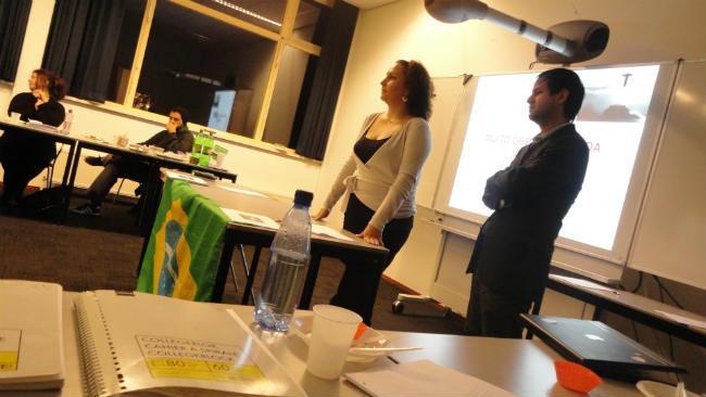 Clara Bianchini e Itamar Olimpio | Imagineering | Breda University| Foto: Itamar Olimpio