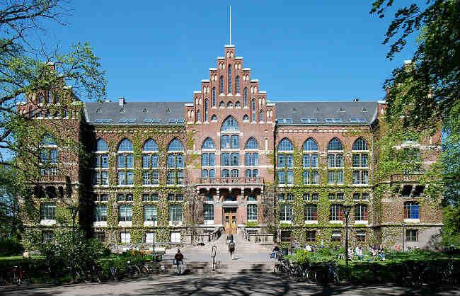 Lund University, na Suécia   Foto: Anton Holmquist Soasta, via Wikimedia Commons
