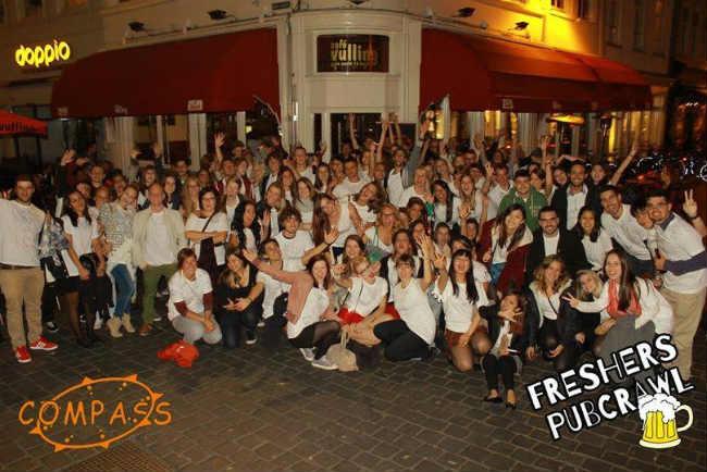 A animada festa de boas vindas de Caio Martinussi na BUas | Foto: Caio Martinussi