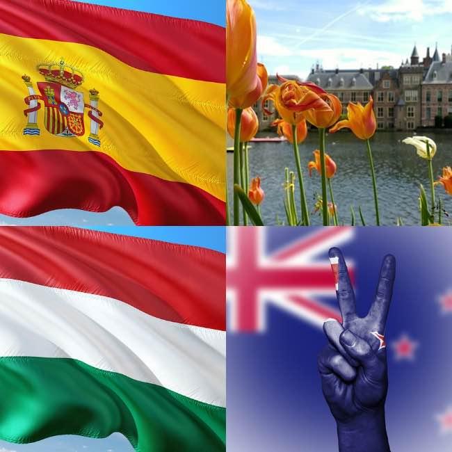 Bolsas para estudar na Espanha, Holanda, Irlanda e Nova Zelândia | Fotos: Max Pixels