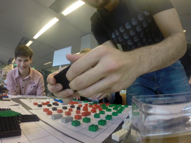 Caio Martinussi e o projeto Blokko, que realizou na BUas | Foto: Caio Martinussi