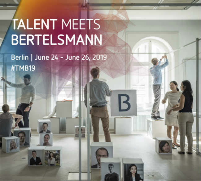 Talent Meets Bertelsmann 2019   Crédito: Divulgação