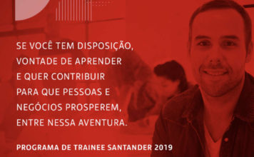 Programa de Trainee Santander 2019 | Crédito: divulgação