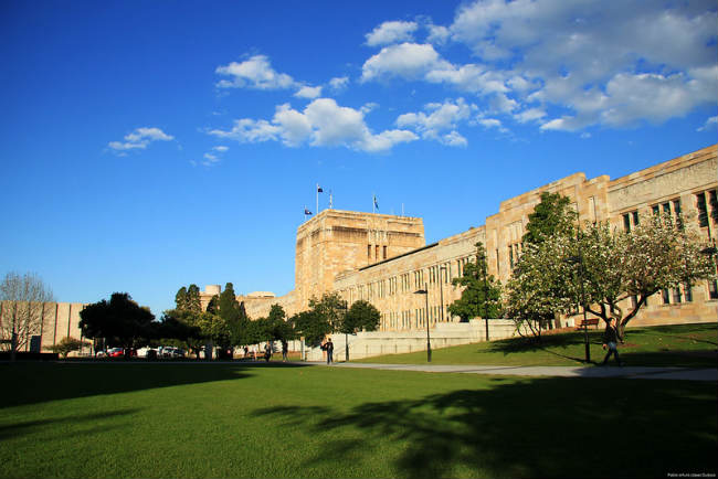 The University of Queensland, Austrália | Foto: palg1305, via Flickr