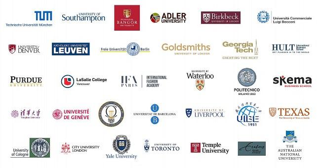 Algumas universidades em que alunas/alunos da Tissen foram aprovados