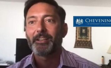 Vijay Rangarajan, embaixador britânico no Brasil | Programa Chevening