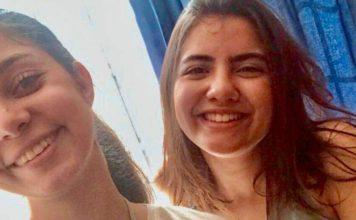 Camila Leão e Alice Inacio em Yale | Foto: Camila e Alice