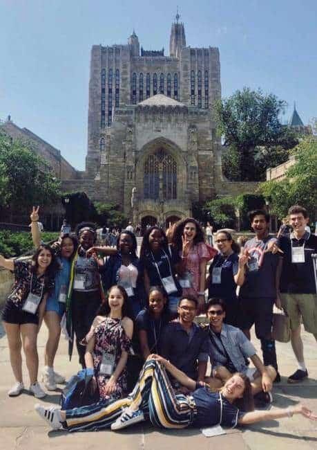 Amigos do Young Yale Scholars | Foto: Camila e Alice